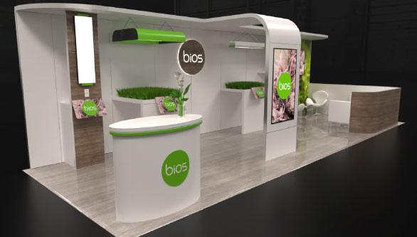 BIOS Trade Show Booth