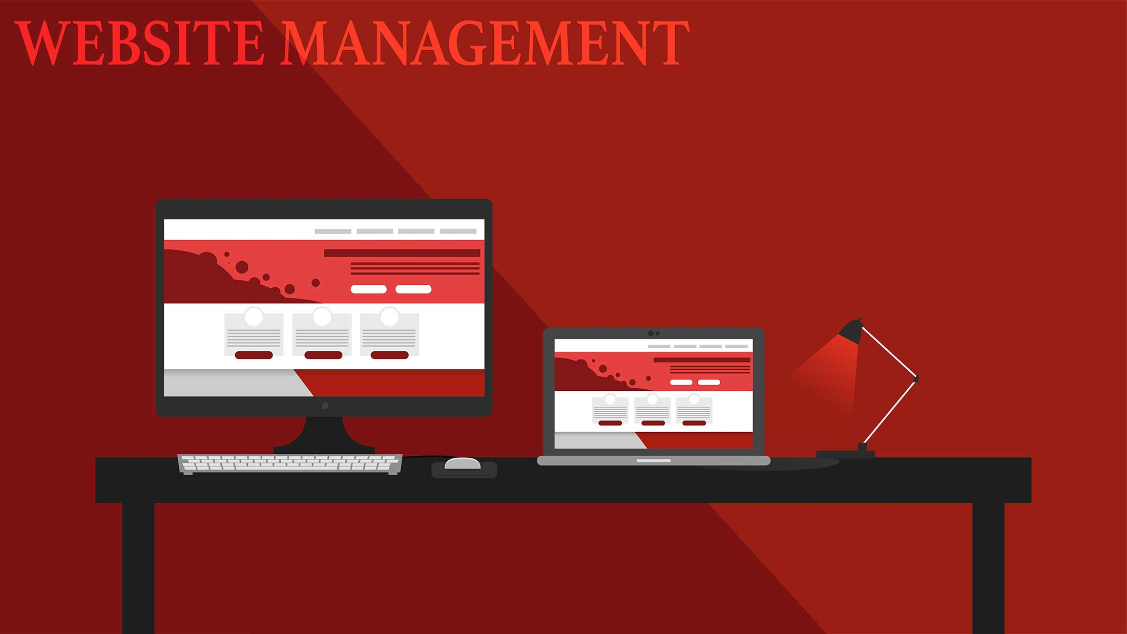 tghe role of website management in rebranding