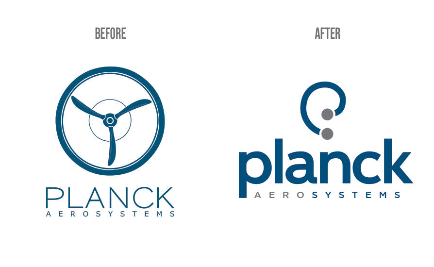 planck before and after logo by jacob tyler